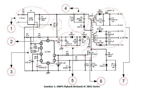 Perangkat Elektronik Lainnya Lainnya Tdk Snap On Noise Filter Ferrite studi kasus smps berbasis ic 3842 mati total syarikh