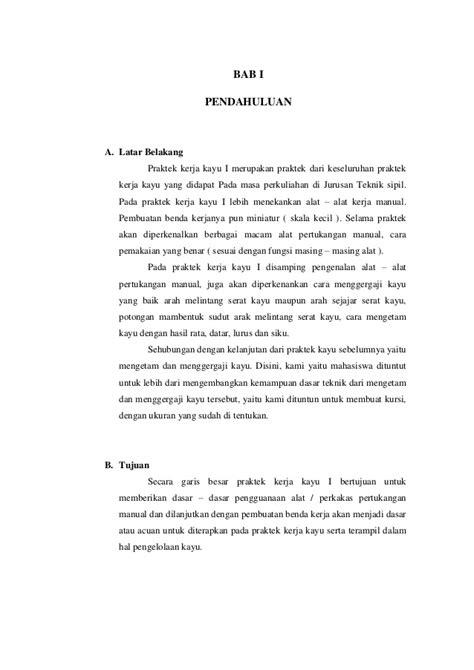 laporan praktikum membuat manisan pepaya kerja kayu perancah laporan praktikum membuat bangku taman