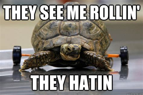 They See Me Rollin They Hatin Meme - they see me rollin they hatin misc quickmeme