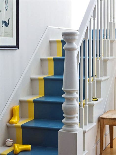 gorgeous painted stair ideas