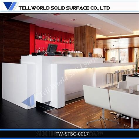 corian acrylic solid surface corian acrylic solid surface bar counter from china