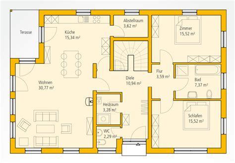 haus bauen grundrisse bungalow ka 112 ytong bausatzhaus