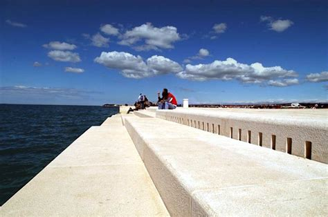 sea organ croatia sea organ in zadar yacht charter croatia