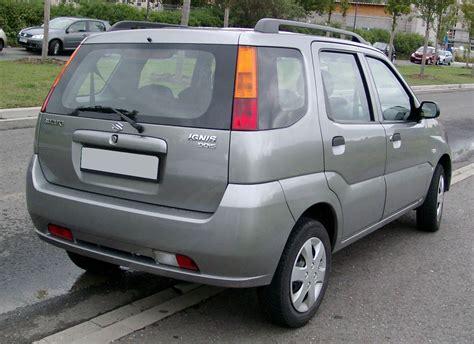 Suzuki Ignis Wiki File Suzuki Ignis Rear 20080820 Jpg