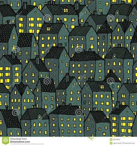 city pattern photography city seamless pattern at night stock photography image