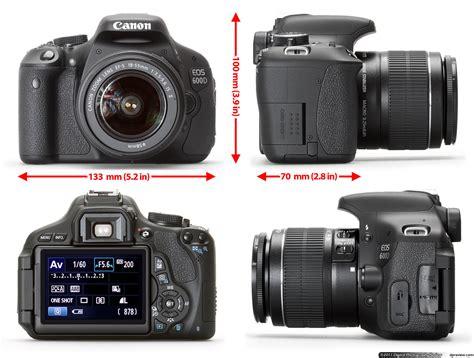 Kamera Canon 600d harga kamera canon eos 600d menggunakan prosesor digic 4