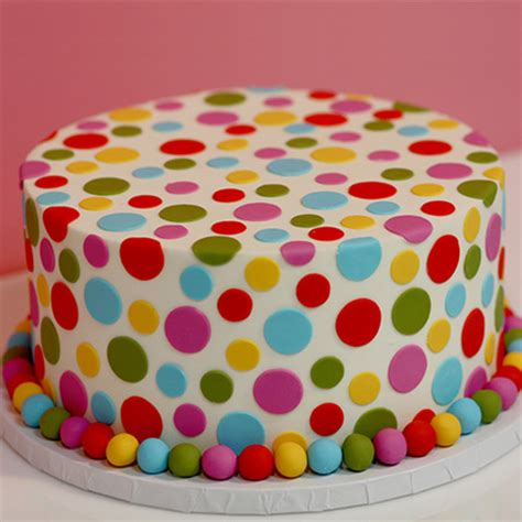 colorful birthday cakes colorful polka dot birthday cake sweet memories bakery