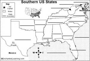 southeastern us map blank www proteckmachinery
