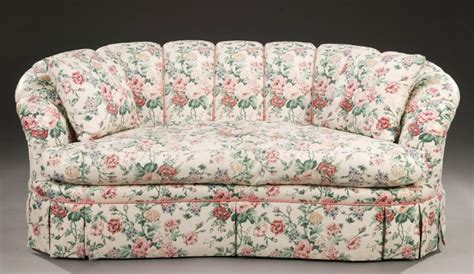 chintz couch a modern floral chintz upholstered sofa and 1526734