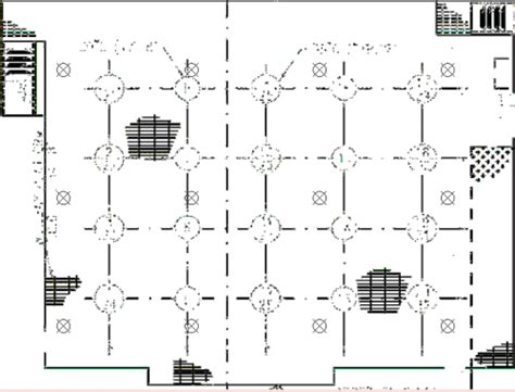 spacing in gridlayout origin of the five meter grid for gas detector spacing