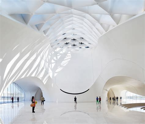 Harbin Opera House by Mad Architects Fluid Formed Harbin Opera House Opens In China