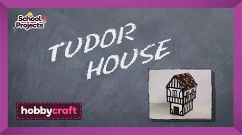 what makes a house a tudor how to make a tudor house hobbycraft youtube