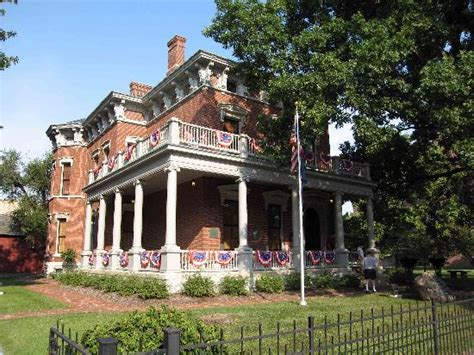 benjamin harrison house indianapolis benjamin harrison presidential site indianapolis all
