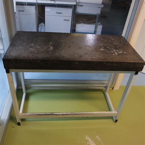 the table used large size used laboratory weighing table granite top s