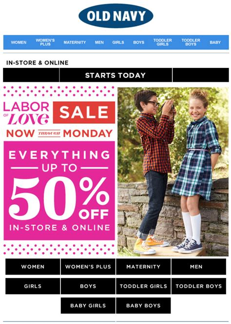 Old Navy Coupons Labor Day | old navy s huge labor day sale 2015 weekend event black