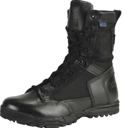 5 11 Tactical Boots 5 11 tactical skyweight wp with zipper black boot 12321