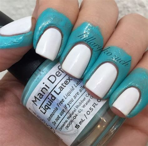 easy nail art clean up latex barrier mani defender 174 liquid latex for perfect
