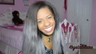 how to get grey hair color how to get silver grey hair krystalclaire