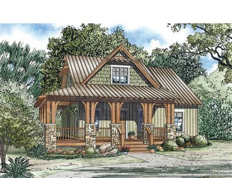 Country Cottage House Plans Smalltowndjs Com Country House Plans Bungalow