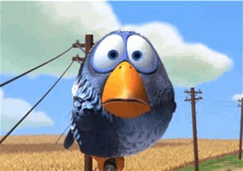 captions for an existing pixar birds gif : makemeagif