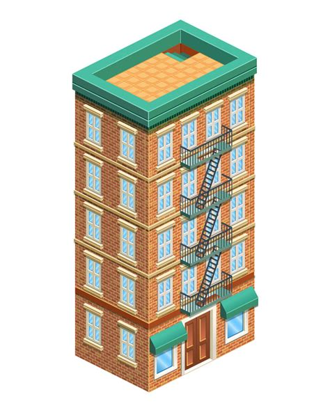 design a building how to create a detailed isometric building in adobe