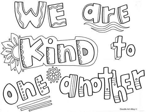 Behavior Expectations Coloring Pages Classroom Doodles Manners Coloring Pages 2