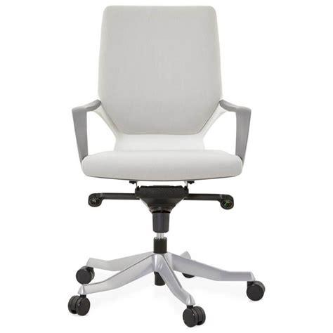 fauteuil bureau tissu fauteuil de bureau ergonomique ramy en tissu gris