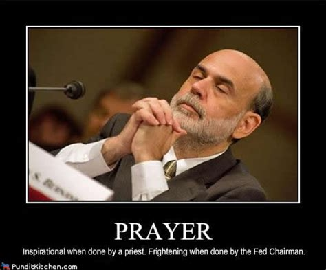 financial cartoon the bernanke prayer meme trader 2 trader