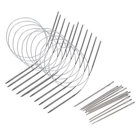 knitting needle sizes australian 11 pcs 80cm durable stainless steel circular knitting