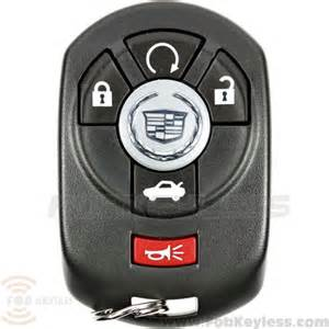 How To Start A Cadillac Without A Key Brand New 2005 2007 Cadillac Sts Smart Key 5b Trunk