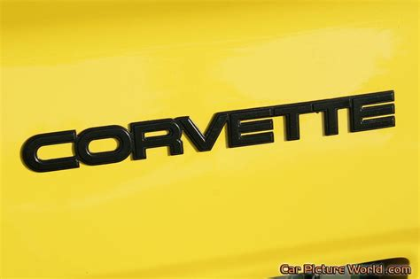 insignia chevrolet corvette 1982 yellow corvette rear insignia picture