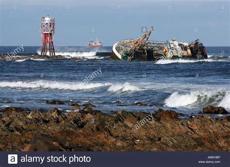 fishing boat accident fraserburgh banff registered sovereign fishing trawler lies on rocks