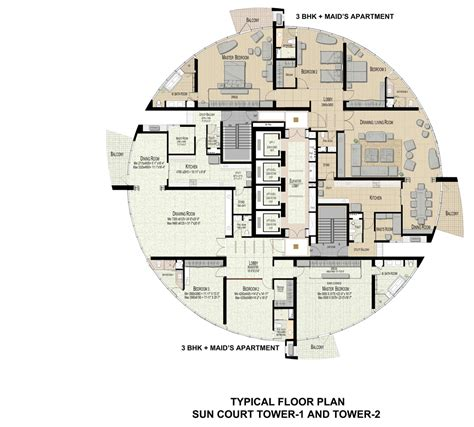 Typical House Floor Plan Dimensions jaypee greens sun court tower 1 amp 2 greater noida
