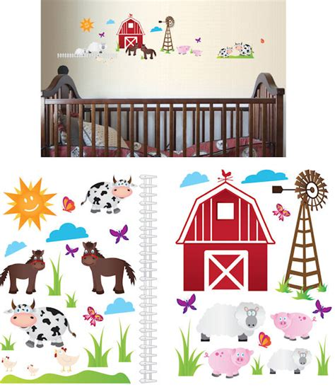 animal stickers for walls farm animal wall stickers 2017 grasscloth wallpaper