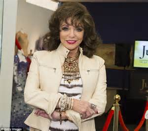 Dress Joan Pl joan collins wears animal print dress before auctioning wardrobe daily mail