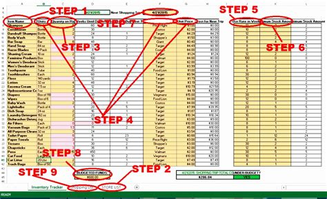 8 Inventory List Template Excel Exceltemplates Exceltemplates Free S Op Excel Template