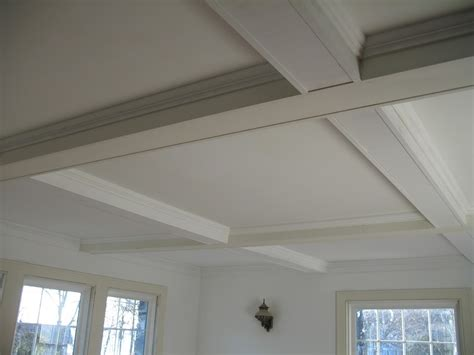 diy coffered ceiling project renoguide