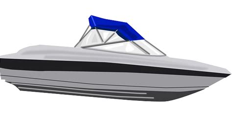 cartoon fast boat free vector graphic speed boat water vehicle fast