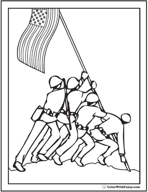 coloring pages flags holidays and free fourth of july coloring pages print and customize