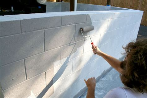painting exterior cinder block walls things bring smiles how to paint cinder block