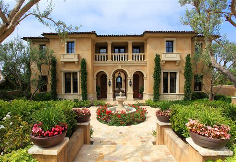 tuscan style homes spanish style home with pool the mediterranean house styles design