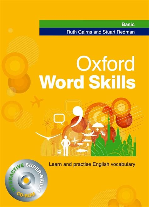 oxford word skills basic oxford word skills basic student s pack book and cd rom learn and practise english