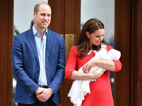 royals princess kate prince william welcome a