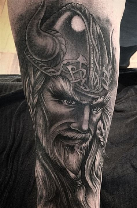 tattoo 3d viking viking leg tattoo google zoeken tat pinterest leg