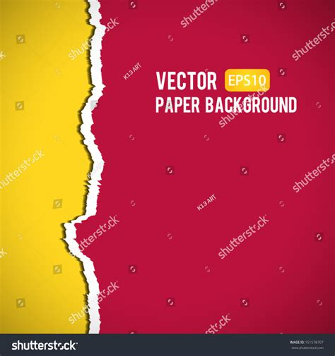 thesis abstract francais torn paper abstract color background high quality vector
