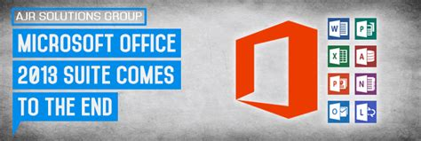 microsoft office 2013 suite comes to the ends
