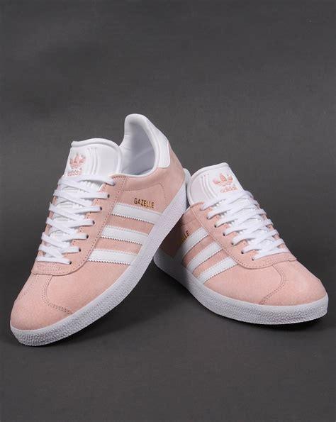 adidas gazelle trainers vapour pinkwhiteoriginalsshoes