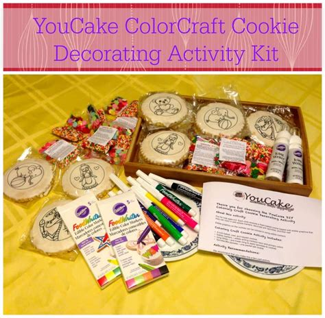 Cookie Decorating Kit by Youcake Colorcraft Cookie Decorating Activity Kit For Giveaway The