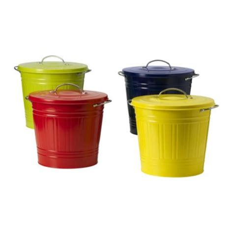 bathroom garbage cans with lids bathroom trash cans ikea knodd trash bin with lid