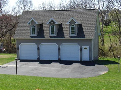 3 car detached garage three car detached garage pole barn garage designs
